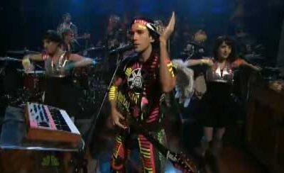 Sufjan on Late Night with Jimmy Fallon